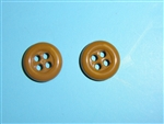 b2438 WW 2 US Army Shirt button set of 12 B2D18