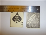 e1915 US Vietnam US Army Novelty Ace of Spades Death Card left with VC/NVA IR14T
