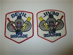 e0368 Original US Army 1980s 90s 82nd Airborne Devil Brigade  IR18D