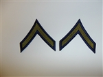e2320 Korea US  Army Private First Class PFC Chevrons pair R2E