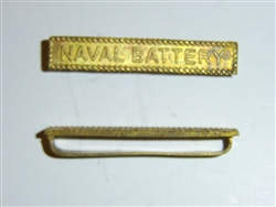 e2370 WW1 US Naval Battery bar for Victory Medal France 1918 16 inch B2D61