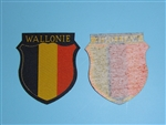 WWII German Army Volunteer Sheild Wallonie