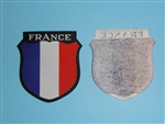 WWII German Army Volunteer Sheild France