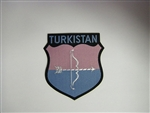 WWII German Army Volunteer Sheild Turkistan 2nd