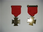 b0477 US Naval Infantry Navy Meritorious medal Spanish American War R14D