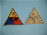 WWII US Army 13th Armored Division patch