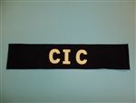 WWII US Army Armband CIC Counter Intelligence Company