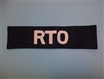 WWII US Army Armband RTO Railway Transportation Officer