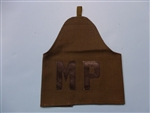 Vietnam era Armband MP Leather OD canvas