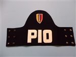 Vietnam era US Army Armband PIO Public Information Officer w/ patch