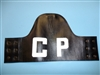 b3294 Vietnam era Armband CP Leather on leather IR5T