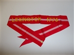 wst1 US Army Streamer Revolutionary War Lexington 1775