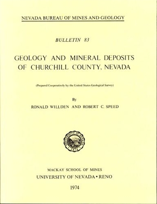 Geology and mineral deposits of Churchill County, Nevada