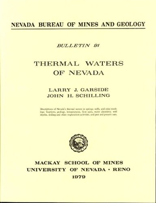 Thermal waters of Nevada