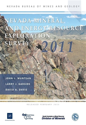 Nevada mineral and energy resource exploration survey 2011 [COLOR PRINTOUT]