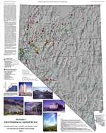 Nevada geothermal resources OUT OF PRINT, SUPERSEDED BY MAP 141
