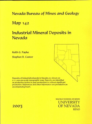 Industrial mineral deposits in Nevada MAP AND TEXT