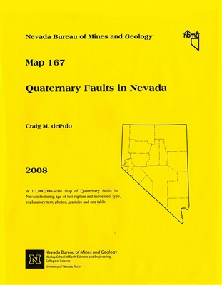 Quaternary faults in Nevada [PAPER MAP]