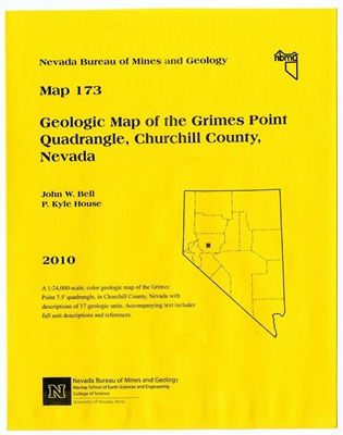 Geologic map of the Grimes Point quadrangle, Churchill County, Nevada [MAP AND TEXT]