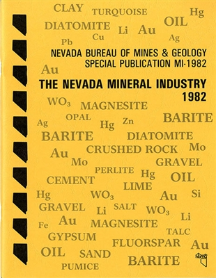 The Nevada Mineral Industry 1982
