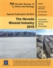 The Nevada mineral industry 2015 [PLASTIC COMB-BOUND REPORT]