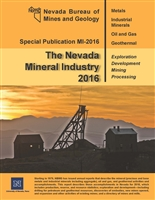 The Nevada mineral industry 2016 [PLASTIC COMB-BOUND REPORT]