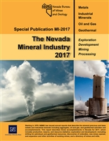 The Nevada mineral industry 2017 [PLASTIC COMB-BOUND REPORT]