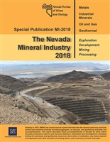 The Nevada Mineral Industry 2018 PLASTIC COMB-BOUND REPORT