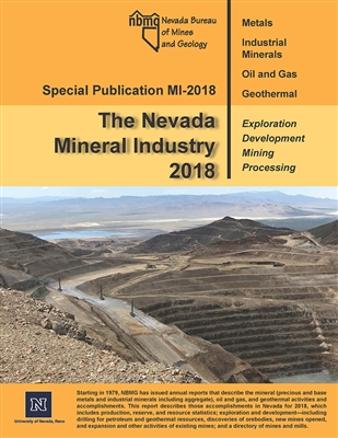 The Nevada Mineral Industry 2018 [PLASTIC COMB-BOUND REPORT]