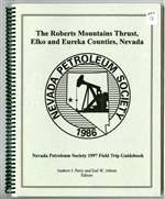 The Roberts Mountains thrust, Elko and Eureka counties, Nevada BOOK