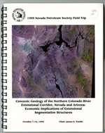 Cenozoic geology of the northern Colorado River extensional corridor, Nevada and Arizona: economic implications of extensional segmentation structures [WIRE-BOUND BOOK]
