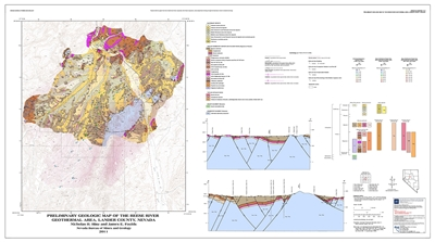 Preliminary geologic map of the Reese River geothermal area, Lander County, Nevada