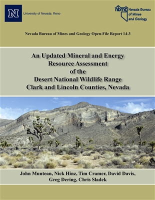 An updated mineral and energy resource assessment of the Desert National Wildlife Range, Clark and Lincoln counties, Nevada [PHOTOCOPY]