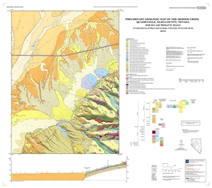 Preliminary geologic map of the Herder Creek quadrangle, Elko County, Nevada [MAP AND TEXT]