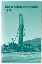 Major mines of Nevada 1993