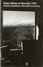 Major mines of Nevada 1994: Mineral industries in Nevada's economy