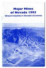 Major Mines of Nevada 1995: Mineral industries in Nevada's economy