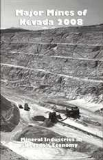 Major mines of Nevada 2008: Mineral industries in Nevada's economy
