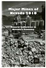 Major mines of Nevada 2010: Mineral industries in Nevada's economy