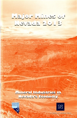 Major mines of Nevada 2013: Mineral industries in Nevada's economy