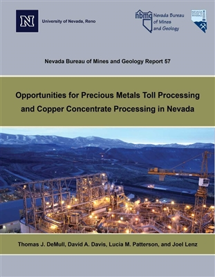 Opportunities for precious metals toll processing and copper concentrate processing in Nevada