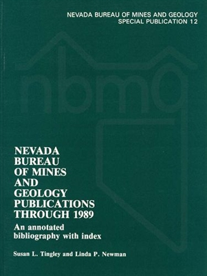 Nevada Bureau of Mines and Geology publications through 1989--An annotated bibliography with index