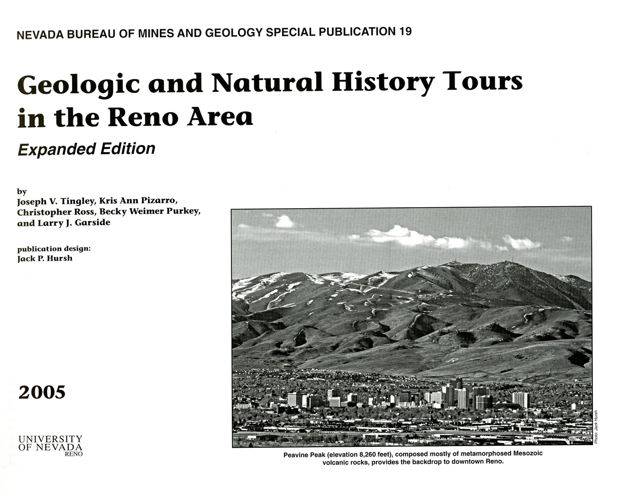 Geologic and natural history tours in the reno area expanded edition - Geological survey and mines bureau ...
