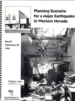 Planning scenario for a major earthquake in western Nevada