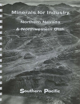 Minerals for industry--Northern Nevada & northwestern Utah: Summary of geological survey of 1955-1961 (Volume 1)