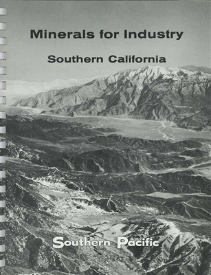 Minerals for industry--Southern California: Summary of geological survey of 1955-1961 (Volume 3)
