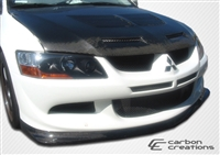Spoiler - Extreme Dimensions/Carbon Creations Demon Front Lip (EVO 8/9)