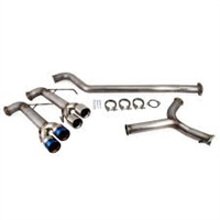 Exhaust System - ETS Cat-back Exhaust System (Subaru WRX/STI 2015-2016)
