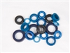Injectors - FIC Top Feed Style Injector O-ring Kit (Subaru WRX/STI)