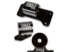 Motor Mount - Torque Solution Billet Aluminum 3 piece Engine Mount Kit (Evo 8/9)